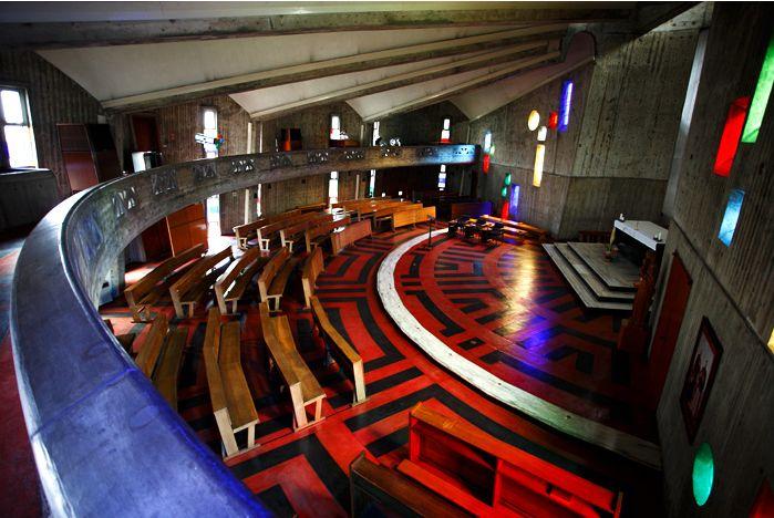 南山大学関連施設(神言神学院聖堂)